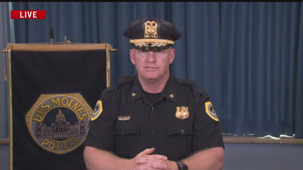 Des Moines Police Chief: Process to Review Complaints 'Works Very Well'