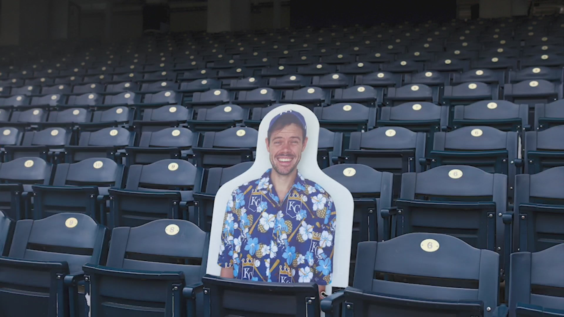 Kansas City Royals Putting Cutouts of Fans in Stands to Fill Seats During Games