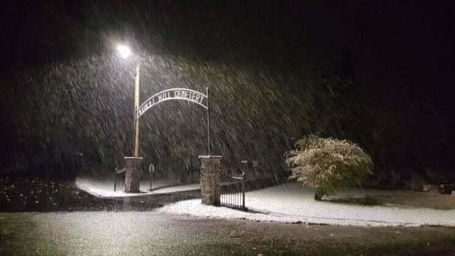 Snow, slush greet Sunday drivers in Perry area 3