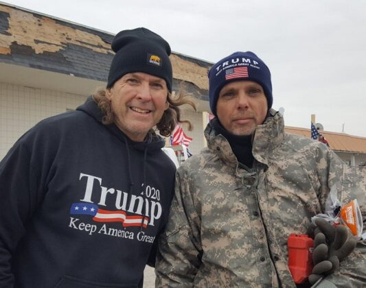 Trump supporters lead Patriot Parade Sunday in Perry