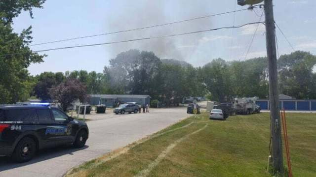 Fire destroys mobile home, damages second in Perry 3