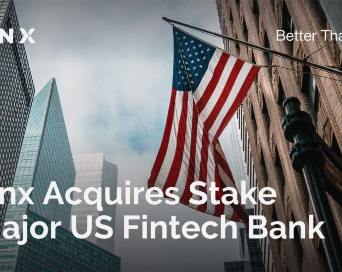 Baanx Acquires Stake in Major US Fintech Bank 5