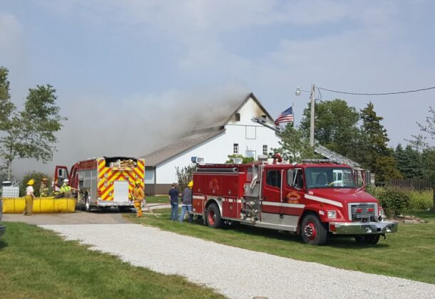 Boone County livestock barn burns Monday 2