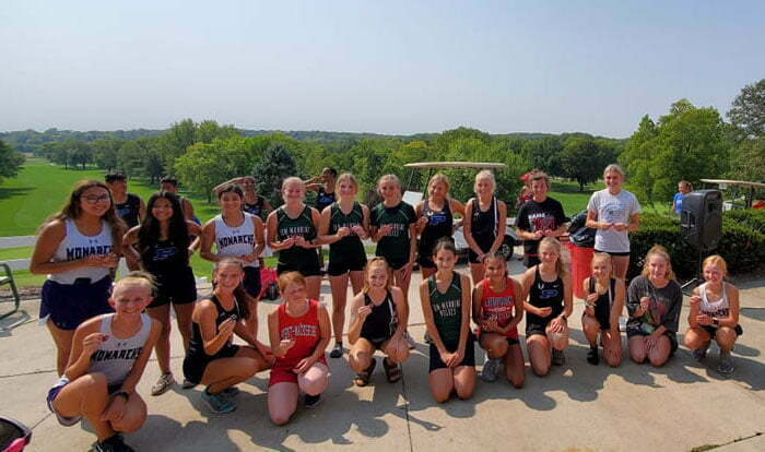 Several medalists for Perry cross country at Greene County meet 1