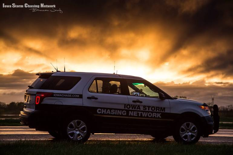 Iowa Storm Chasing Network Explorer Chase Vehicle