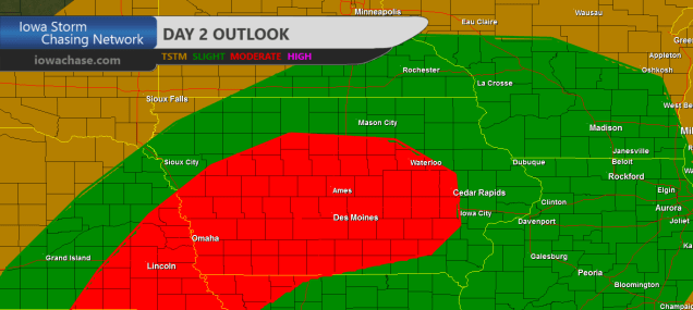 Iowa Day 2 Convective Outlook