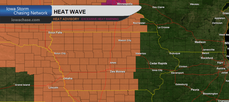 Iowa Heat Advisory