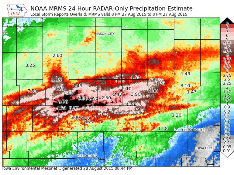 Ames Iowa Flooding