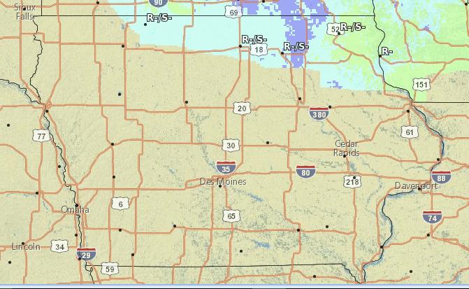 Iowa Snow