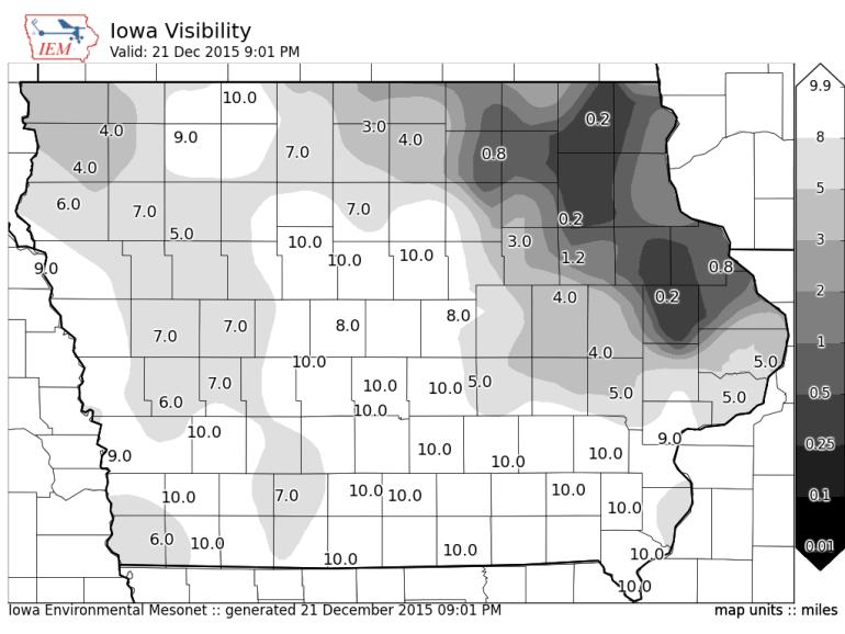 Iowa Current Visiblity
