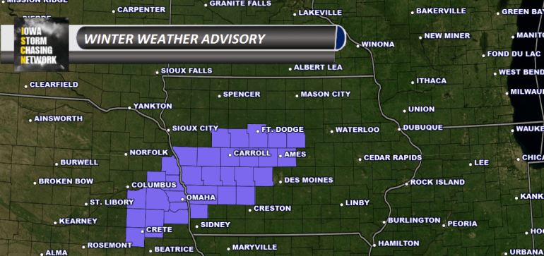 Iowa Winter Weather Advisory