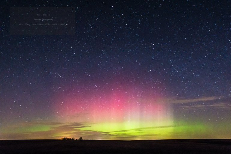Northern Lights in Iowa