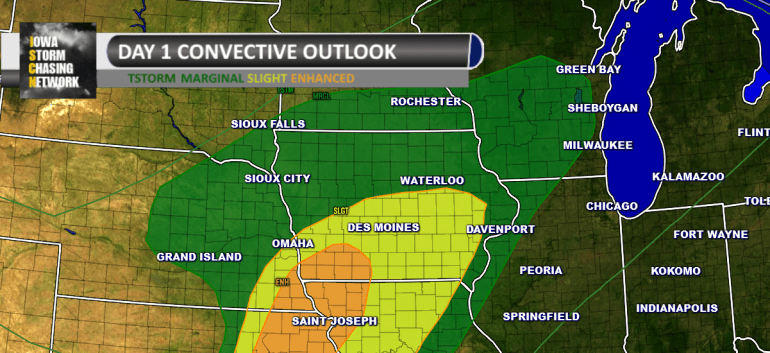 Iowa Severe Weather Outlook October 6th, 2016