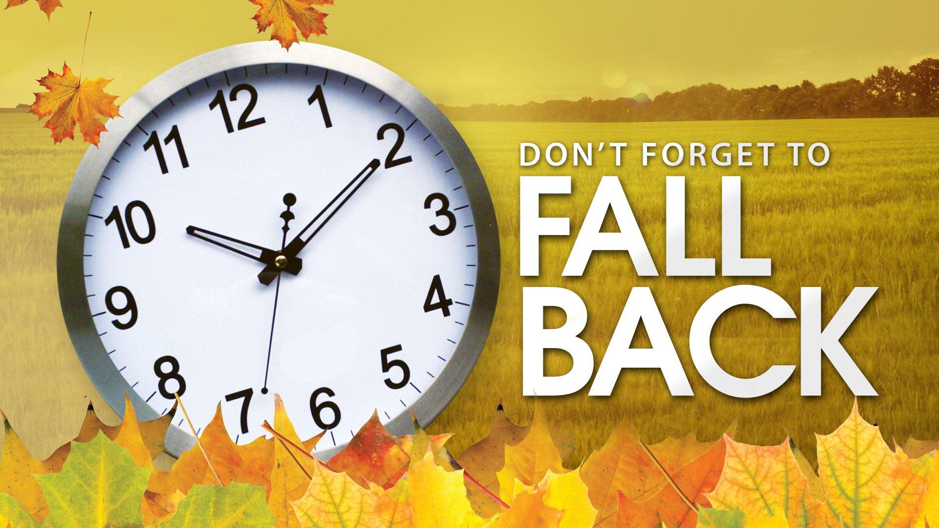 Daylight Saving Time Ends Tonight