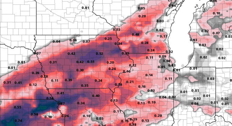 Iowa Ice Accumulations