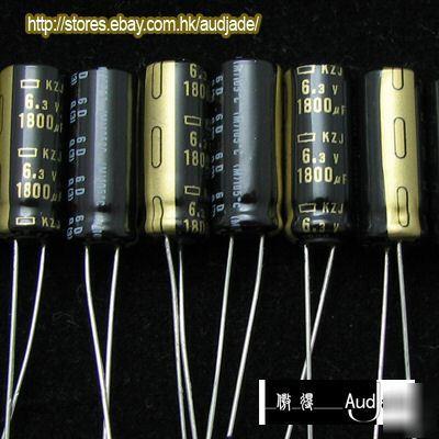New 150pcs 1800uf 6 3v Ncc Kzj Motherboard Capacitors