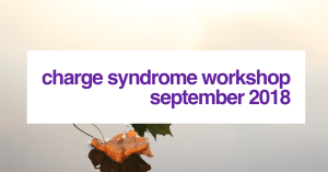 Charge Syndrome Workshop