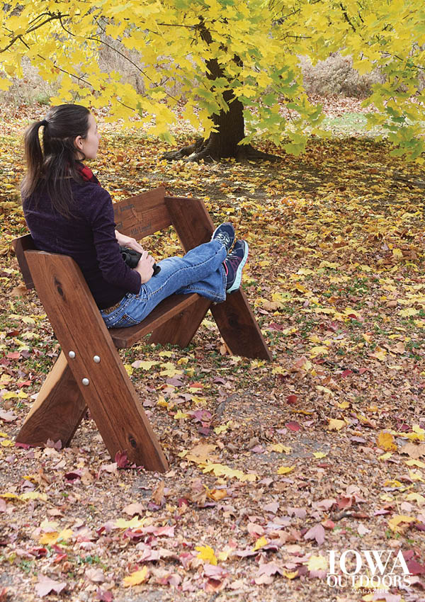 Build A Leopold Bench Dnr News Releases