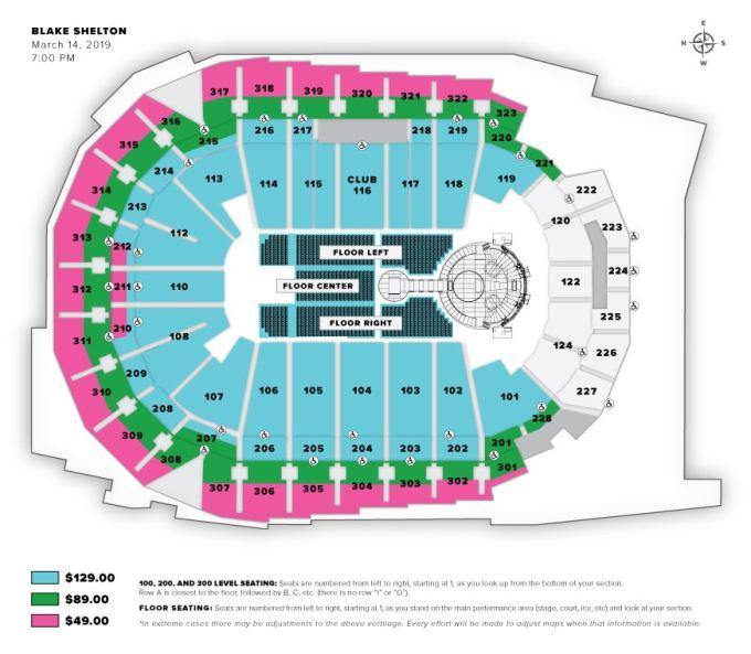 Wells Fargo Arena Seating Chart Www Microfinanceindia Org