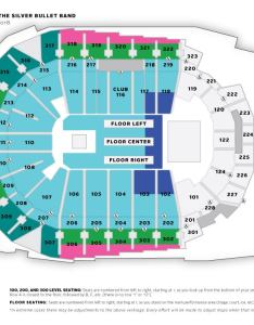 Bob seger  the silver bullet band also seating charts iowa events center rh iowaeventscenter