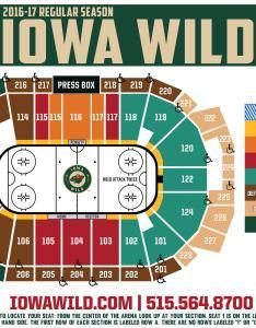 Iowa wild seating chart also mersnoforum rh