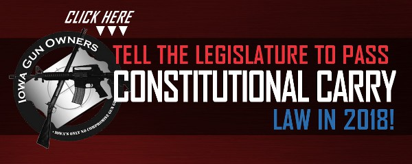 Let's Make Iowa the Next Constitutional Carry State!