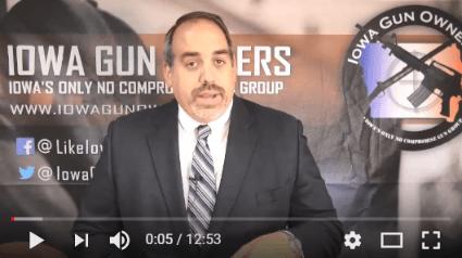Video Update on 'Red Flag Gun Seizure' Legislation — TAKE ACTION!