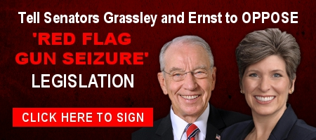 Senator Grassley Backing 'Red Flags' — Act Now!