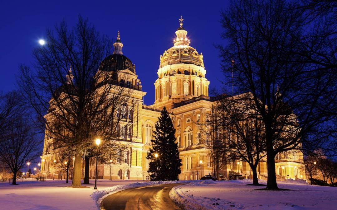 Legislative Session Begins Today in Des Moines!