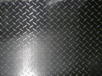 "48""X96"" diamond plate plastic sticker decal sheet"