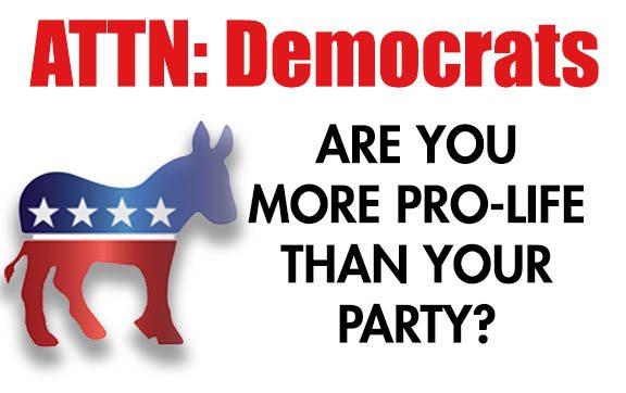 pro-life Democrat