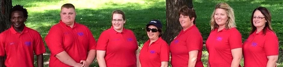 Iowa Regional Officer Team - Red Shirts