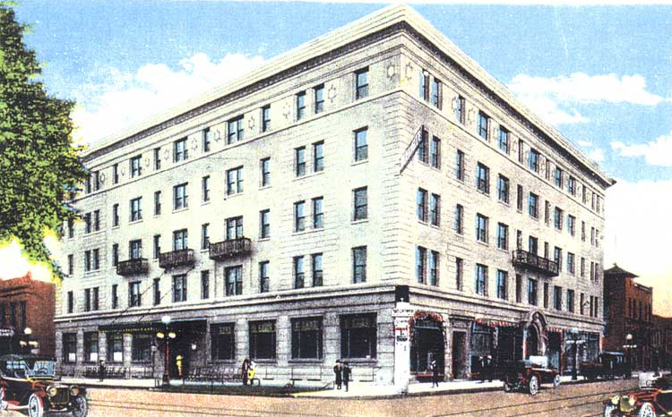 Lafayette Hotel in Clinton - Iowa Unsolved Murders: Historic Cases
