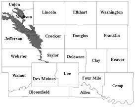 Polk County, Iowa, townships