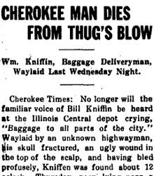 The Eccentric Baggage Hauler: Murder of William Kniffin
