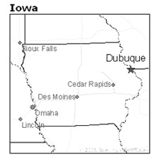 Dubuque Iowa Map Iowa Unsolved Murders Historic Cases