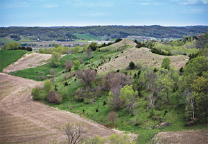 The Loess Hills of southwestern Iowa