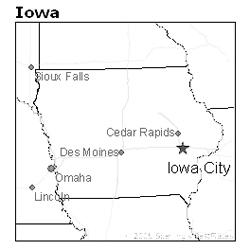location of Iowa City