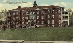 Edmondson Hospital, where both officers were taken.