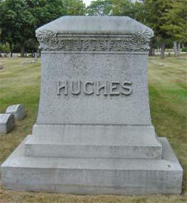 The Hughes family plot (photo by)