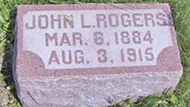 John Rogers tombstone