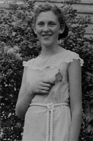 Dorothy Miller as a young girl (courtesy Jan McCallister)