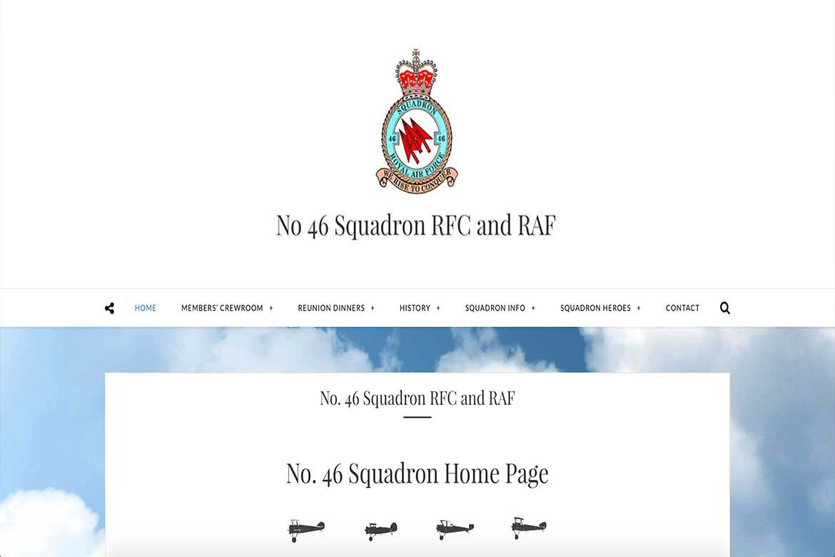 46squadron-Website-Project