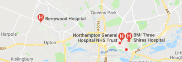 Hospitals in Northamptonshire