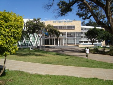 Inaugurated in 2012, the new East African Community (EAC) headquarters are located in Arusha, Tanzania (Photo Credit: RMH, IP-Watch)