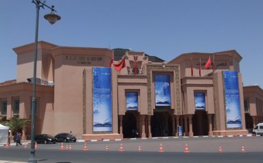 The Marrakesh Conference Center (Photo Credit: Catherine Saez, IP-Watch)