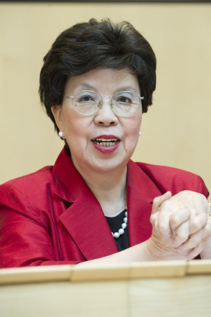 Margaret Chan, WHO Director General Credit: WHO/Pierre Albouy