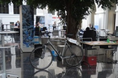 WTO Innovation Fair: Rubbee system for bicycles