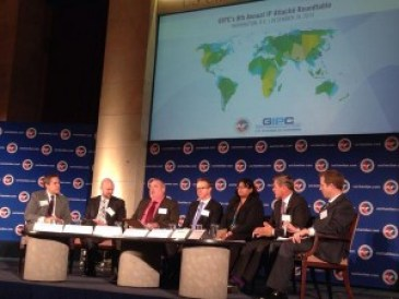 Panel of US IP attachés at GIPC event