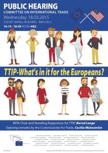 EU TTIP hearing Mar 2015